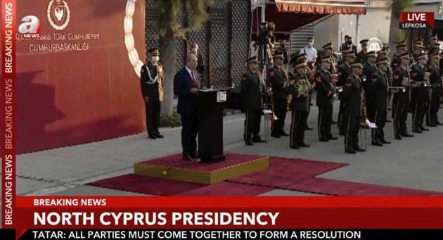 Ερσίν Τατάρ: Δύο κράτη η λύση για την Κύπρο