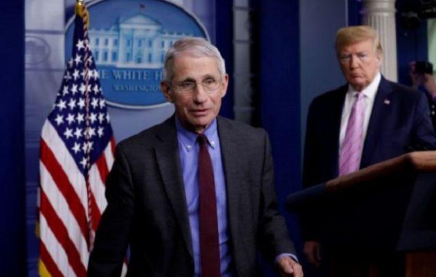 Τραμπ: Ηλίθιος και καταστροφή για τις ΗΠΑ ο Φάουτσι