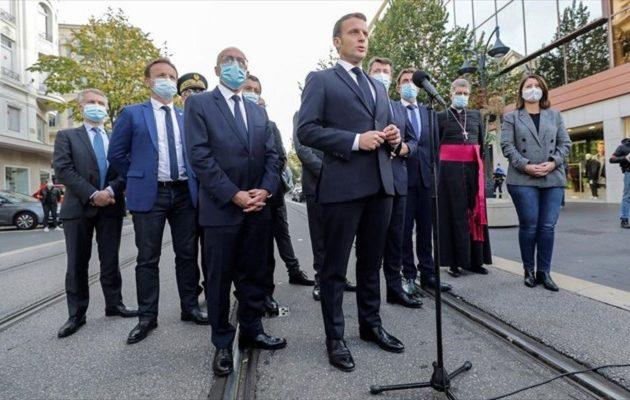 Μακρόν: Δεχόμαστε επίθεση – Αυξάνουμε τη στάση επαγρύπνησης σε όλη τη Γαλλία