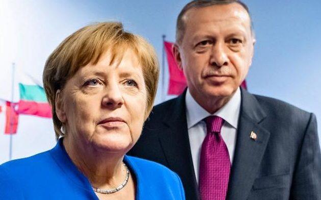 Γερμανικό «κατενάτσιο» σε κυρώσεις κατά του περιφερειακού «χωροφύλακα» Ερντογάν