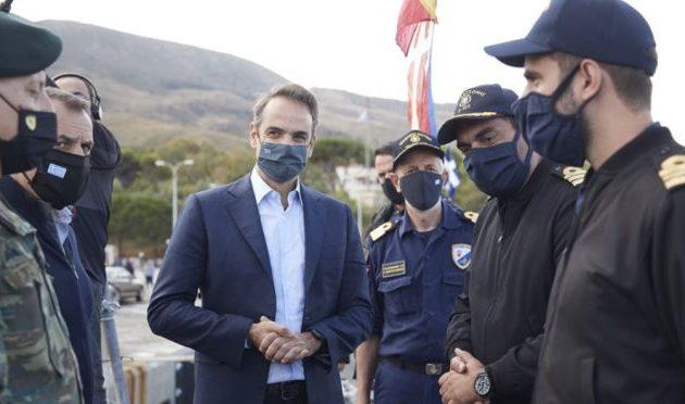 Μητσοτάκης για 28η Οκτωβρίου: Μήνυμα εθνικής ενότητας από το υποβρύχιο «Κατσώνης»
