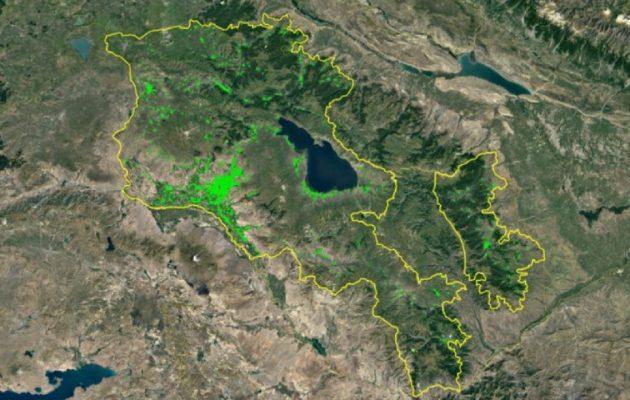 Ναγκόρνο Καραμπάχ: Κατάπαυση πυρός από τα μεσάνυχτα συμφώνησαν Αρμενία-Αζερμπαϊτζάν