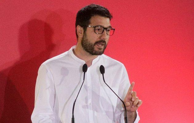 Ηλιόπουλος: «Παραδέχονται κυνικά ότι το 20% των ασθενών πεθαίνει εκτός ΜΕΘ»