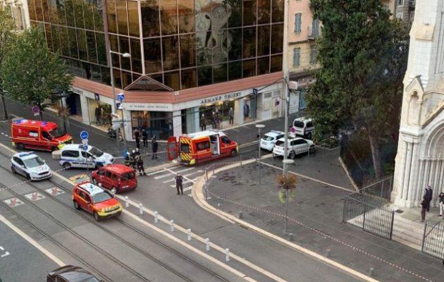 Φονική επίθεση με μαχαίρι σε εκκλησία στη Νίκαια της Γαλλίας