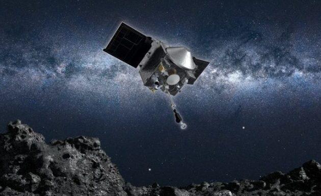 Το OSIRIS-REx της NASA κατάφερε να αγγίξει τον αστεροειδή Μπενού και να συλλέξει δείγμα