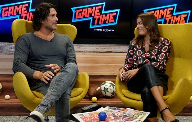 Ο Κώστας Κοκκινάκης παίζει μπάλα στο Game Time του ΟΠΑΠ (βίντεο)