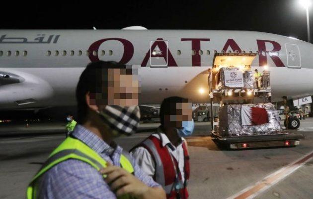 Οι Καταριανοί βάρβαροι έγδυσαν 34 επιβάτισσες αεροπλάνου σε πάρκινγκ αεροδρομίου