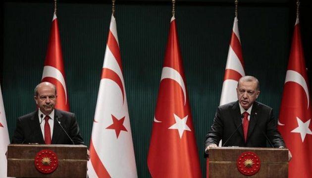 Ερντογάν: Χάσιμο χρόνου οι συζητήσεις για ομοσπονδία στην Κύπρο – Σφετεριστές οι Έλληνες