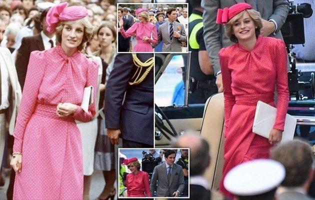 «The Crown»: Ενθουσιασμένη η Έμα Κόριν που υποδύεται την πριγκίπισσα Νταϊάνα