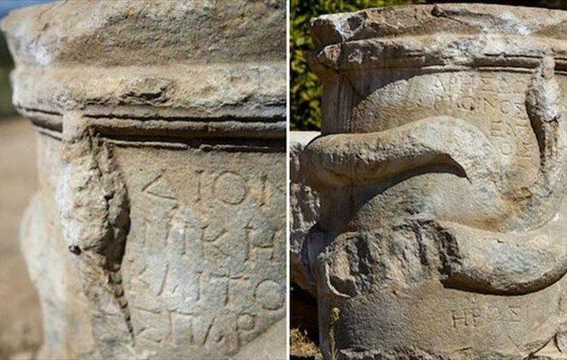 Ελληνικός βωμός δύο χιλιάδων ετών βρέθηκε στη Λυκία