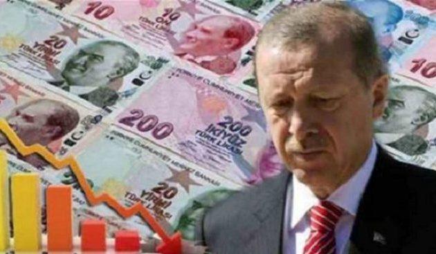 Spiegel Online: Καταρρέει η τουρκική λίρα εξ αιτίας του Ερντογάν