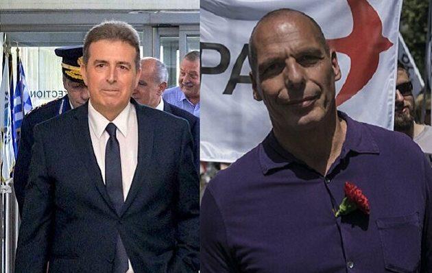 Βαρουφάκης: Ο Χρυσοχοΐδης μου προανήγγειλε συλλήψεις βουλευτών του ΜέΡΑ25