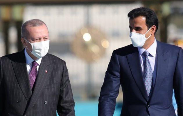 Ο εμίρης του Κατάρ προσπαθεί να σώσει τον Ερντογάν – Αγόρασε το 10% του Χρηματιστηρίου της Τουρκίας