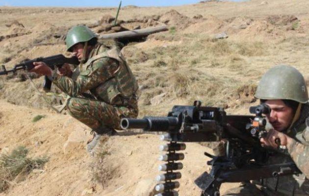 Τρεις Αρμένιοι στρατιώτες νεκροί σε μάχες με Αζέρους