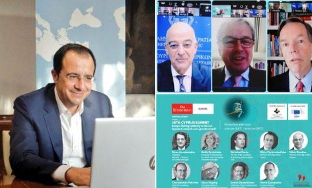 Να συμπράξει με το όραμα για ειρήνη και ευημερία κάλεσε την Τουρκία ο Νίκος Χριστοδουλίδης