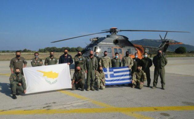 Διακλαδική άσκηση Ελλάδας-Κύπρου μεταξύ Ρόδου και Καστελλόριζου (βίντεο)