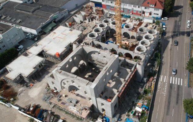 Ανήσυχος ο Μακρόν: Οι Τούρκοι χτίζουν «κάστρο» στο Στρασβούργο με τζαμί, προξενείο, κ.α.