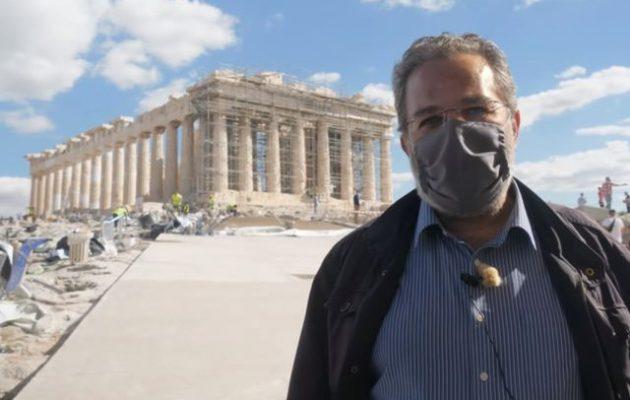 Ο Μιχάλης Λεφαντζής εξηγεί την αλήθεια για τις διαδρομές στην Ακρόπολη (βίντεο)