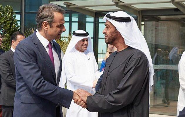 Ο Μητσοτάκης στις 17 Νοεμβρίου συνάπτει αμυντική συμφωνία Ελλάδας-Ηνωμένων Αραβικών Εμιράτων