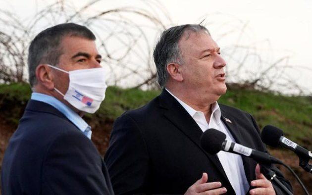 Τουρκικό ΥΠΕΞ: «Θλιβερό βήμα» η επίσκεψη Πομπέο σε ισραηλινό οικισμό στη Δυτ. Όχθη