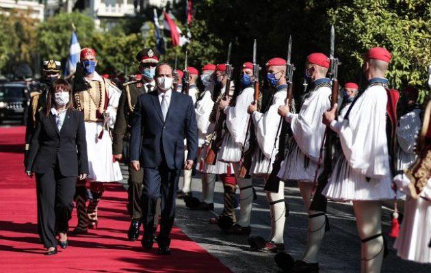 Η Αίγυπτος θα σταθεί στο πλευρό της Ελλάδας για οποιοδήποτε θέμα ασφαλείας και θαλασσίων συνόρων