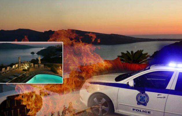 Σαντορίνη: Θρίλερ με το απανθρακωμένο πτώμα του ξενοδόχου – Έγκλημα ή ατύχημα;