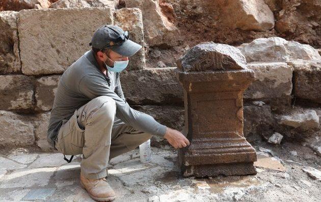 Οι Ισραηλινοί ανακάλυψαν αρχαίο φρούριο 3.000 ετών με ελληνικό βωμό του Πάνα