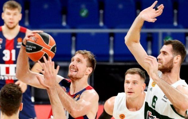 Euroleague: Τέταρτη διαδοχή ήττα για τον Παναθηναϊκό 93-72 από την Μπασκόνια