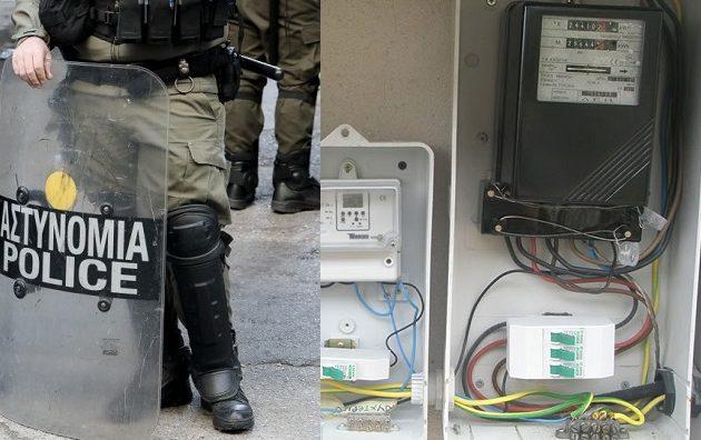 Αναλγησία: Συνοδεία με ΜΑΤ συνεργεία κόβουν το ρεύμα σε ευάλωτα νοικοκυριά