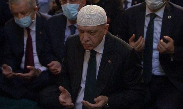 Ο Ερντογάν το 2023 χαλίφης στην Αγία Σοφία – Η Τουρκία γίνεται Ιράν