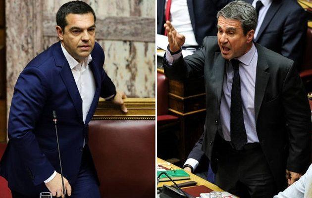 Ντροπή – Ο Λοβέρδος παραδέχεται: «Οργάνωνα να δείρω τον Αλέξη Τσίπρα μέσα στη Βουλή»