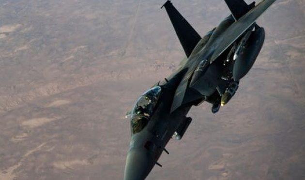 Η ιρακινή πολεμική αεροπορία βομβάρδισε το Ισλαμικό Κράτος νότια του Κιρκούκ