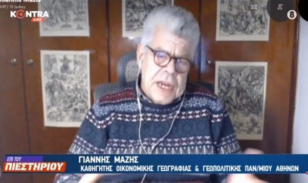 Ιωάννης Μάζης: Τον Μάρτιο στην πολυμερή διάσκεψη θα συζητήσουν ποιο κομμάτι της Ελλάδας θα μοιραστούν με την Τουρκία