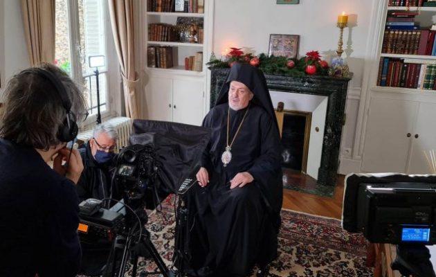Μητροπολίτης Γαλλίας: «Η αγάπη προς τον συνάνθρωπο προϋποθέτει την αγάπη προς τον Χριστό»