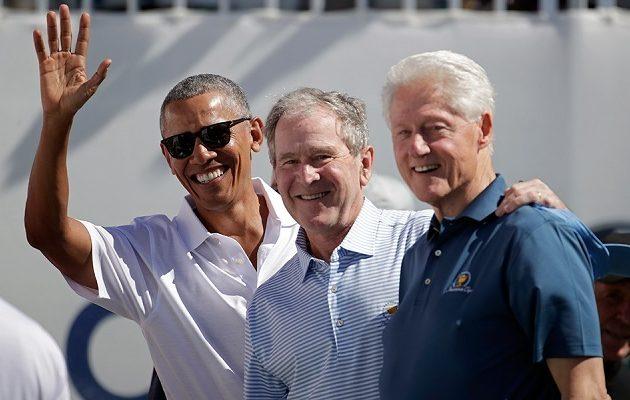 Κορωνοϊός: Ομπάμα, Μπους και Κλίντον έτοιμοι για να εμβολιαστούν δημοσίως