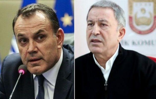 Τι απάντησε ο Έλληνας υπουργός Άμυνας στον φαφλατά Χουλουσί Ακάρ
