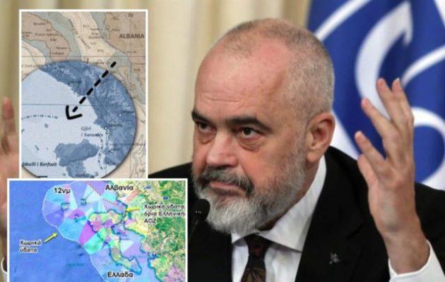 Αλβανία για 12 ν.μ.: Κατηγορούν τον Ράμα ότι «πώλησε τη θάλασσα στην Ελλάδα»