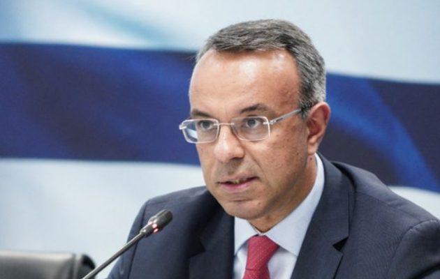 Σταϊκούρας: Παγώνουν έως το τέλος του έτους όλες οι βεβαιωμένες οφειλές προς την Εφορία