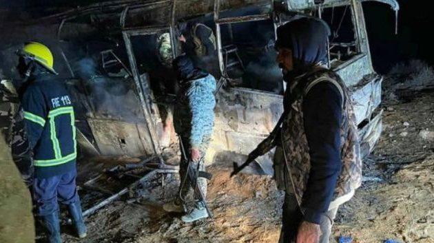Το Ισλαμικό Κράτος ανέλαβε την ευθύνη για το πολύνεκρο μακελειό με στόχο λεωφορείο στη Συρία