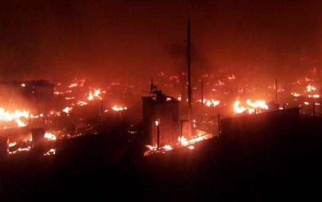 Λιβανέζοι αφεντικά έκαψαν καταυλισμό Σύρων προσφύγων επειδή ζήτησαν τα δεδουλευμένα τους