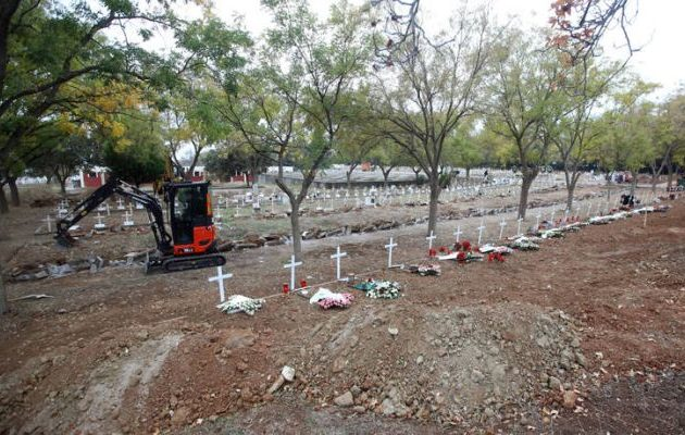 Ανοίγουν τάφους στη Θεσσαλονίκη για τα θύματα του κορωνοϊού