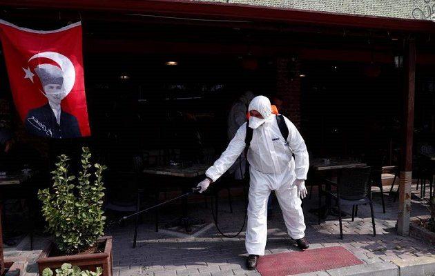 Σαρώνει ο κορωνοϊός στην Τουρκία – Tέταρτη παγκοσμίως με τα περισσότερα κρούσματα