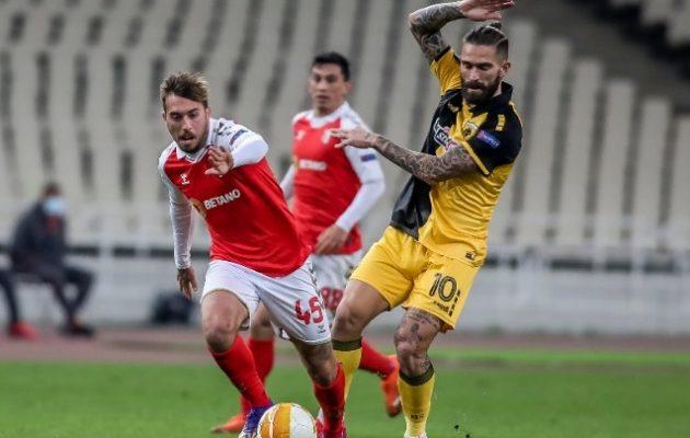 Europa League: «Αντίο» με βαριά ήττα για την ΑΕΚ