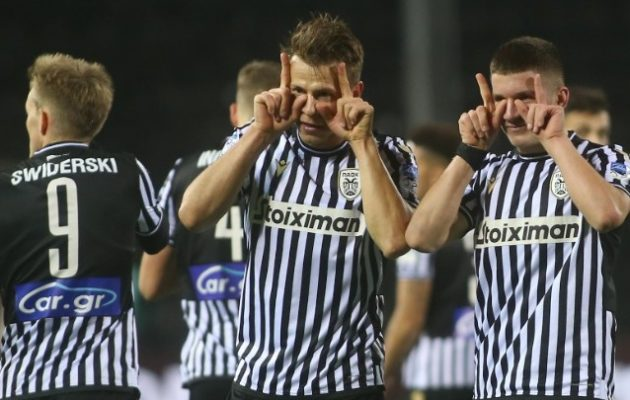 Πέμπτη σερί νίκη για τον ΠΑΟΚ 2-0 τον Αστέρα Τρίπολης