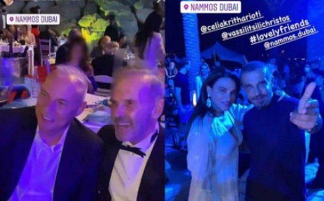 Τι απάντησε ο Κωστόπουλος για την Πρωτοχρονιά στο Ντουμπάι