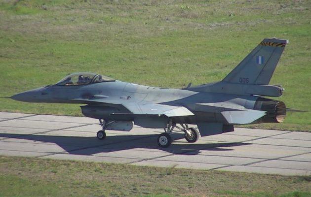 Το πρώτο ελληνικό F-16 αναβαθμισμένο σε Viper έκανε την Κυριακή την παρθενική του πτήση