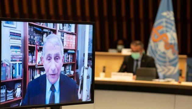 Φάουτσι: Οι ΗΠΑ θα παραμείνουν μέλος του ΠΟΥ