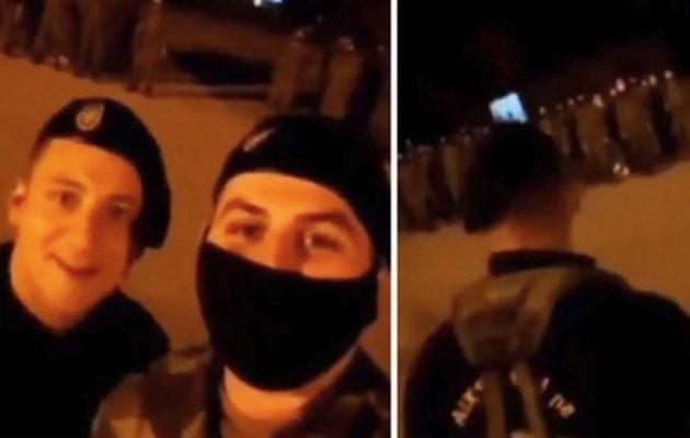 Έρευνα στο ΓΕΣ για βίντεο που δείχνει Αλβανούς να δίνουν διαταγές σε Έλληνες στρατιώτες (βίντεο)