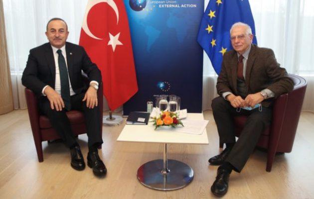Ο Μπορέλ είπε ότι Τουρκία και ΕΕ (μαζί) βάζουν την Ελλάδα απέναντι για να μοιράσουν τους υδρογονάνθρακές της