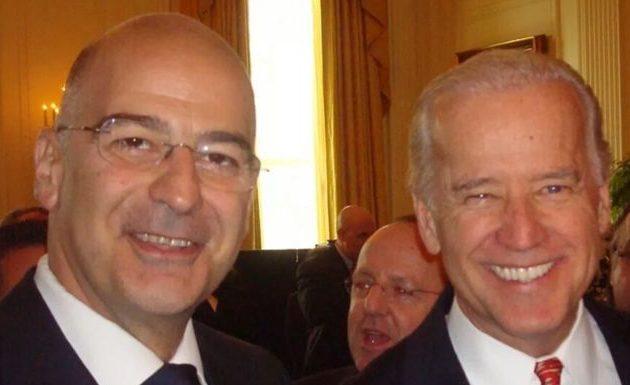 Νίκος Δένδιας: Θερμά συγχαρητήρια στον Τζο Μπάιντεν – Ελλάδα και ΗΠΑ μοιράζονται κοινό όραμα